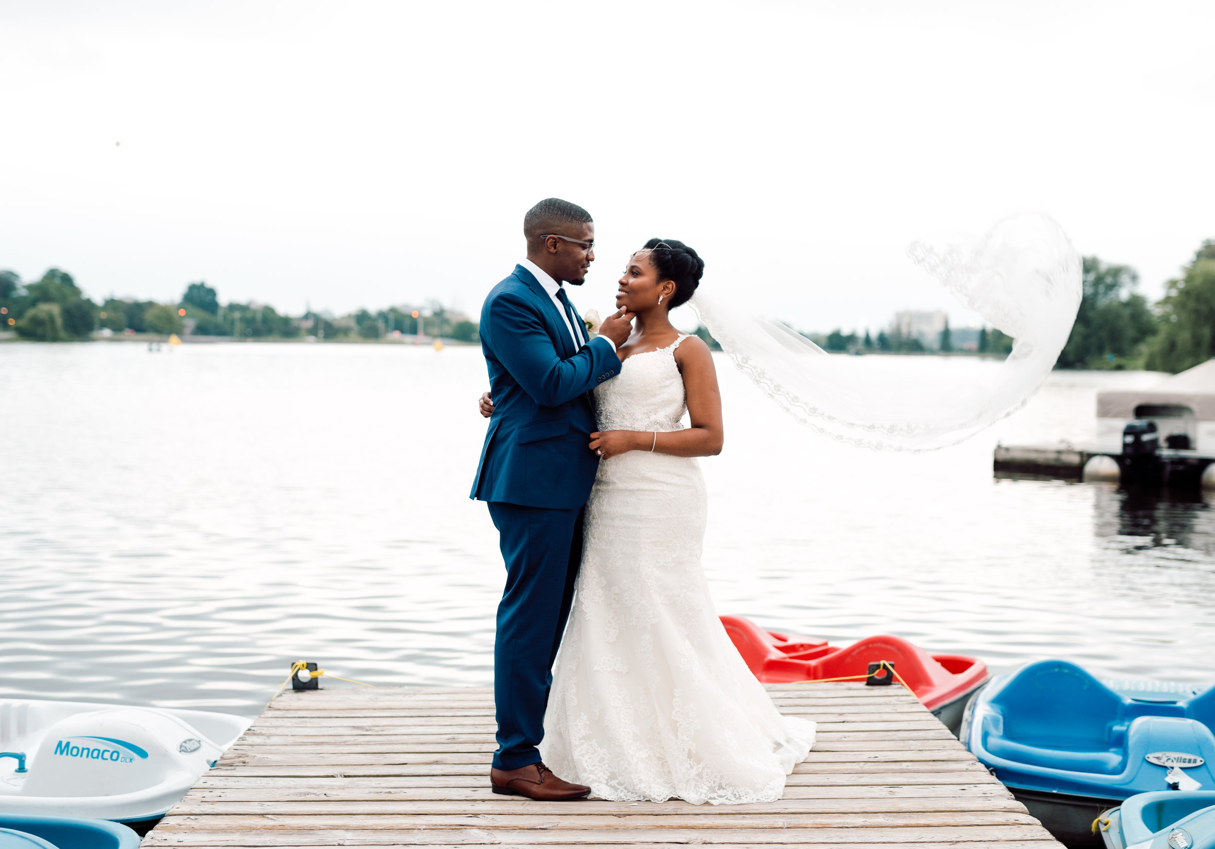 Toronto Black Wedding Photography
