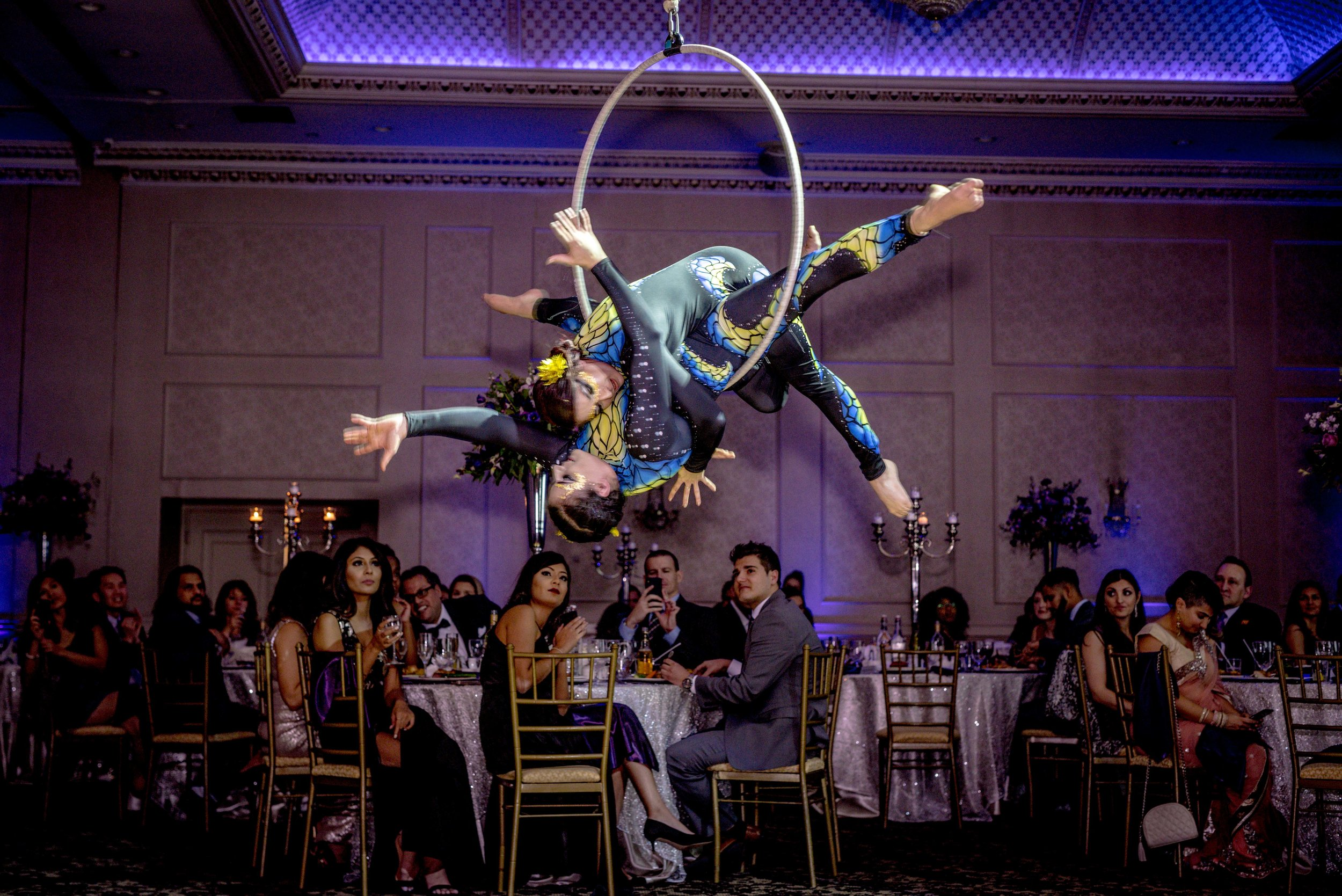 Pr and special event photography of circus performers