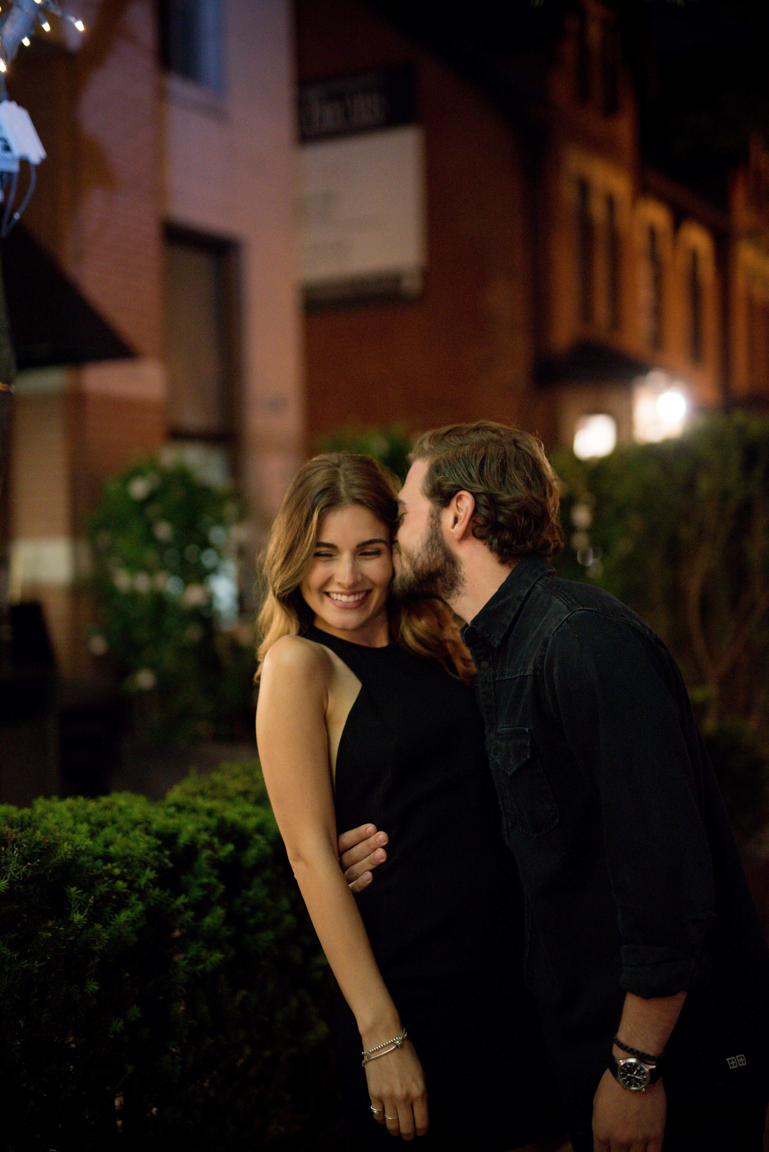 Date night in yorkville engagement photography