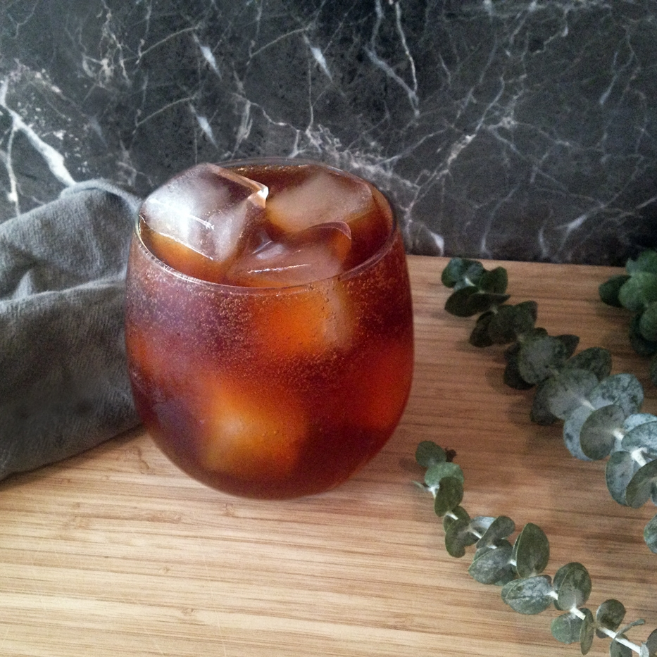 Dancing Dragon    1 oz  Haint Absinthe  ½ oz    Pearl Beverage Co.      Dancing Dragon Tea Syrup    Over ice Top with soda water