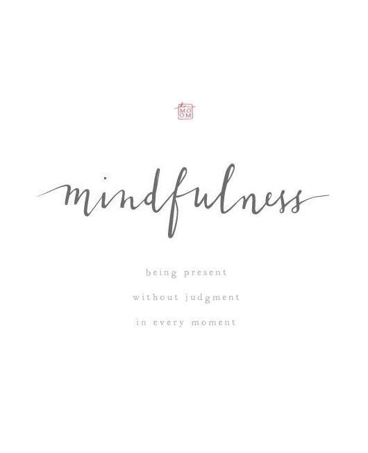 """Mindfulness is not only a state of mind, but also the relationship you have with it. The better the relationship we have with our thoughts the more we are able to be present in every moment on purpose. We are used to getting caught up in thoughts of things that already happened or of what to do or say next. You can still reflect on situations or plan our days, the problem starts when we do it unconsciously at times when we should be focusing on what's in front of us. We basically spend a majority of our lives """"half-living"""" because we are physically there, but our mind is somewhere else.  The reason behind the ongoing distractions of thoughts is because thoughts usually don't come alone, they are almost always accompanied by feelings of judgment. If you really observe your thought process, you will realize that you are arguing with yourself 99% of the time. """"Why did I do that?"""" """"I should've said something."""" """"I need to stop thinking about this."""" """"It's such a  bad  day"""" One thought takes you to the next to the next, until you don't know how you got here.   Here are a few attitudes that you could try to cultivate in your daily life that will move you closer to living in the moment:    Non-judgmental:  Stop judging yourself and every thought you think of. It is what it is. Thoughts are not you, they are just thoughts.    Patience:  Let things unfold in their own time. Don't rush anything.    Beginner's Mind:  Life would be much interesting if we pretended to see things as if for the first time. Use your senses to feel a moment as if you've never experienced it before. Live everyday as if it's your first! Meet your best friend for the first time! (in your mind of course..)   Trust:  Trust yourself, your intuition is usually more accurate than you think.   Non-striving:  That's my favorite. Don't set goals, set """"intentions"""" instead. That way you can hardly fail if you intention was in the right place. Takes the pressure off and you will definitely do more.    Acceptance:  """