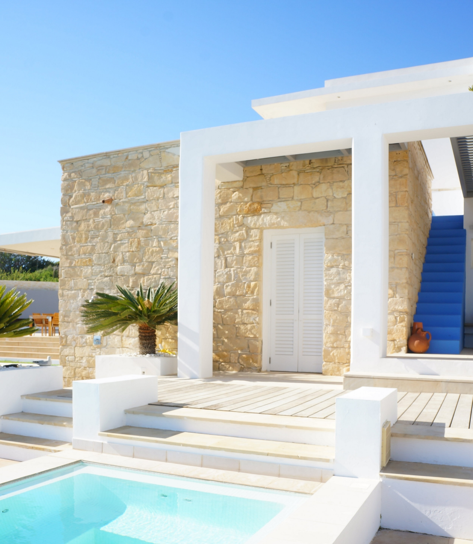 """Peyia, Cyprus -""""Villa Idleness""""featured on an architectural magazine."""