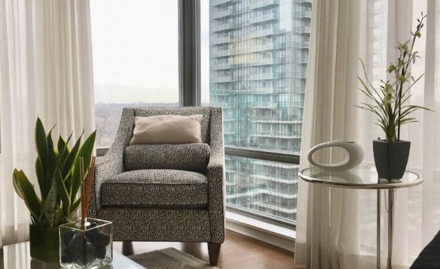 Toronto, ON Canada - Yorkville luxury apartment.