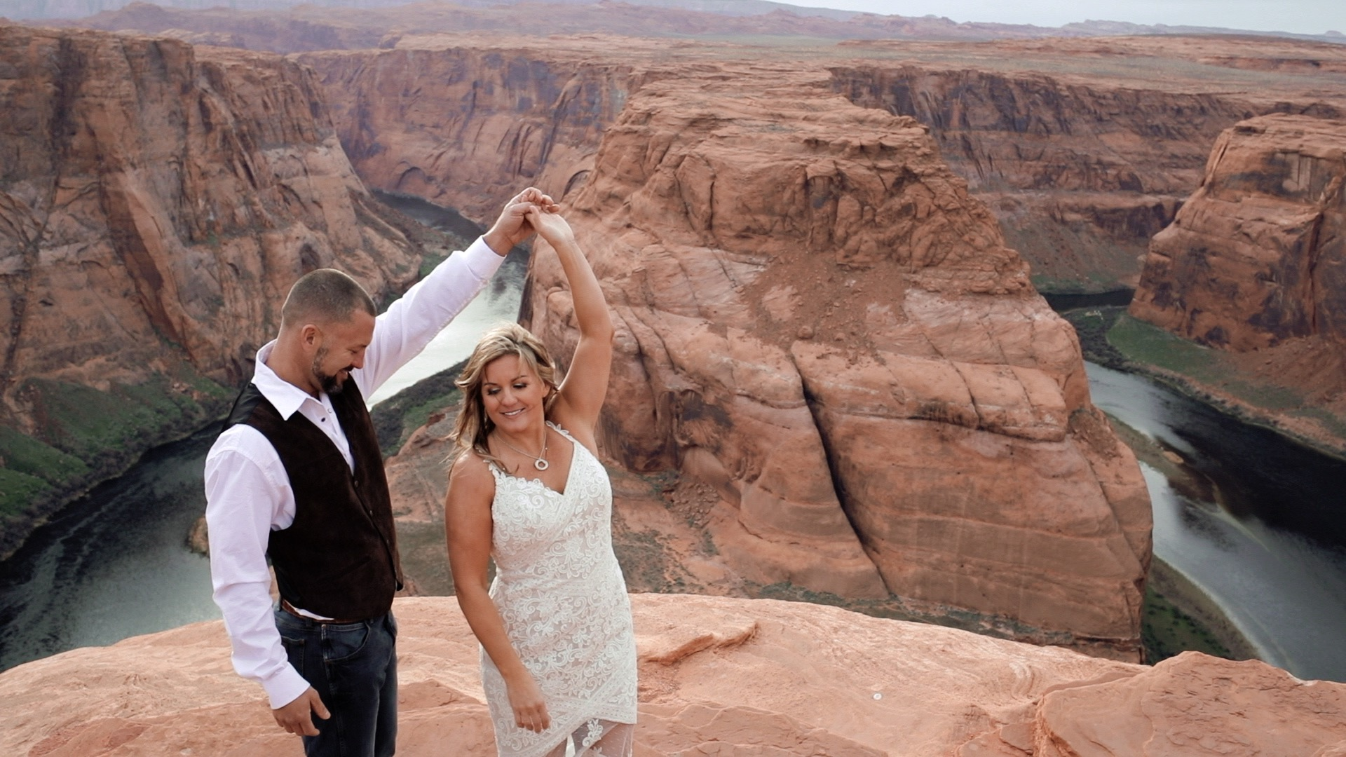 horseshoe bend wedding film
