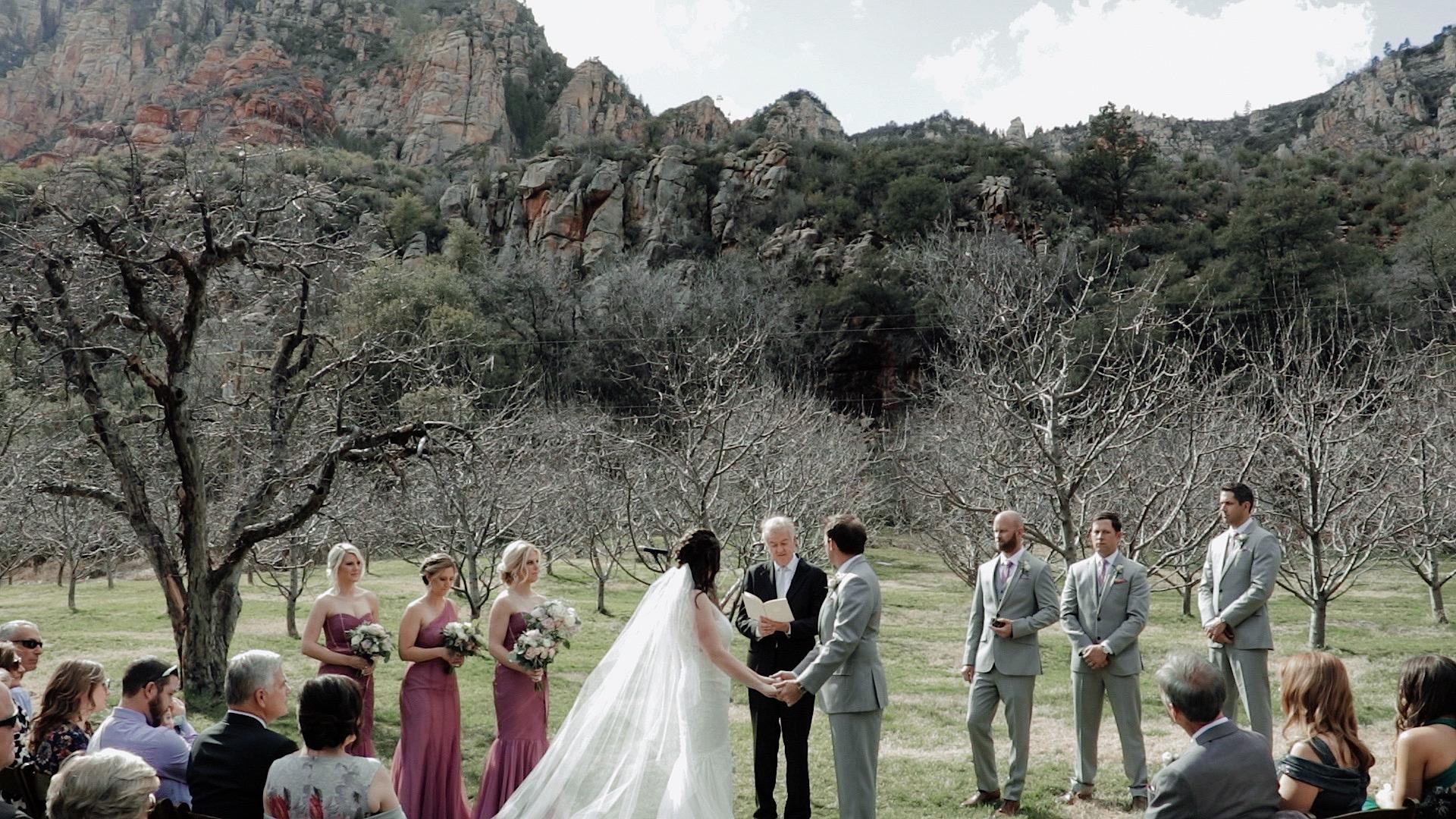 sedona wedding videography