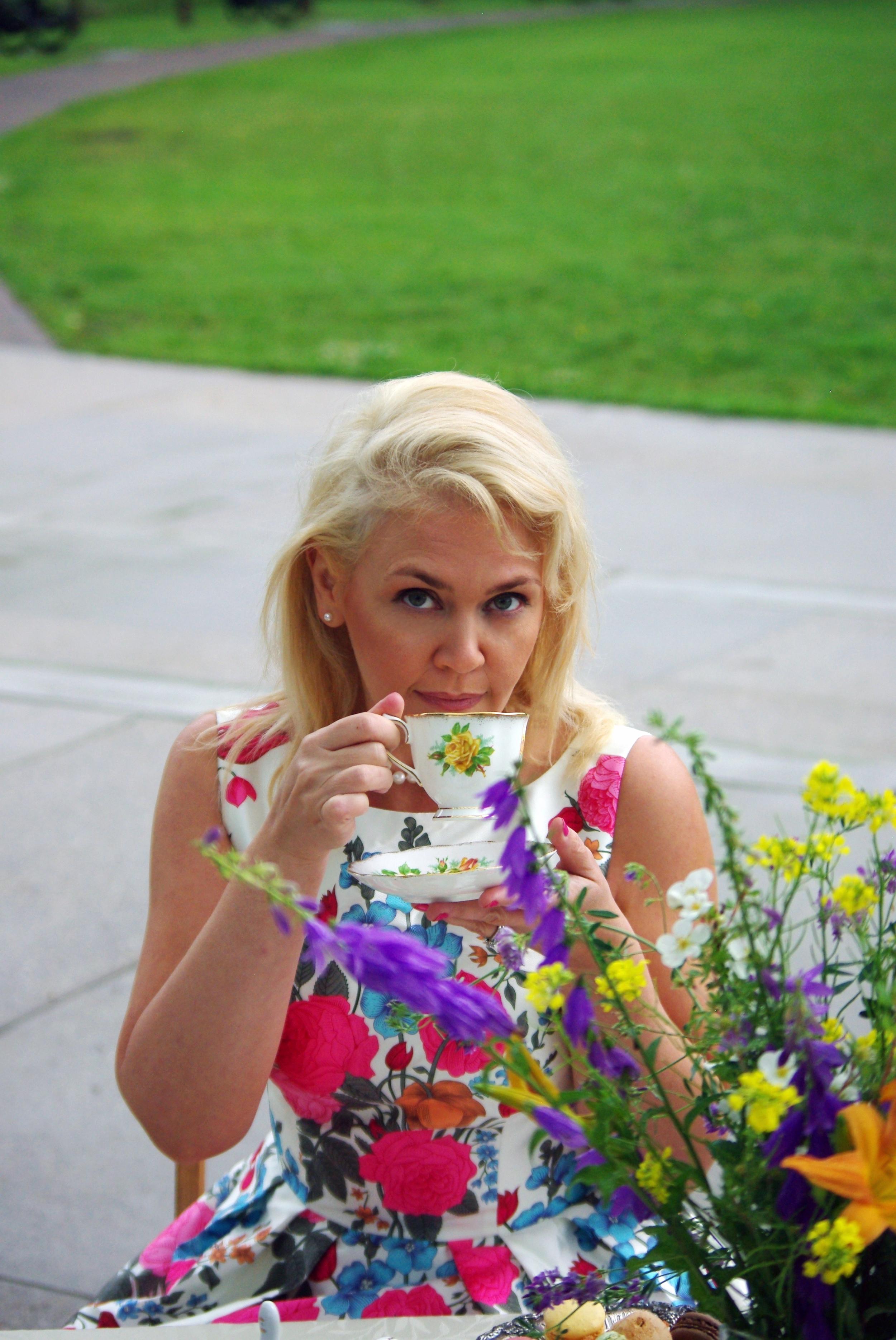 Angelique sipping tea.jpg
