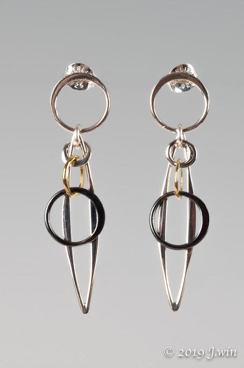 Hoops and loops earrings