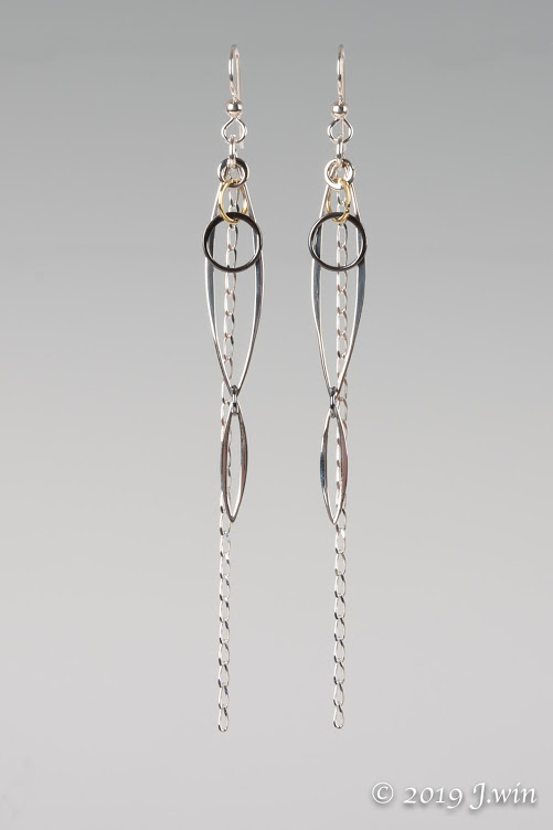Long and loopy earrings