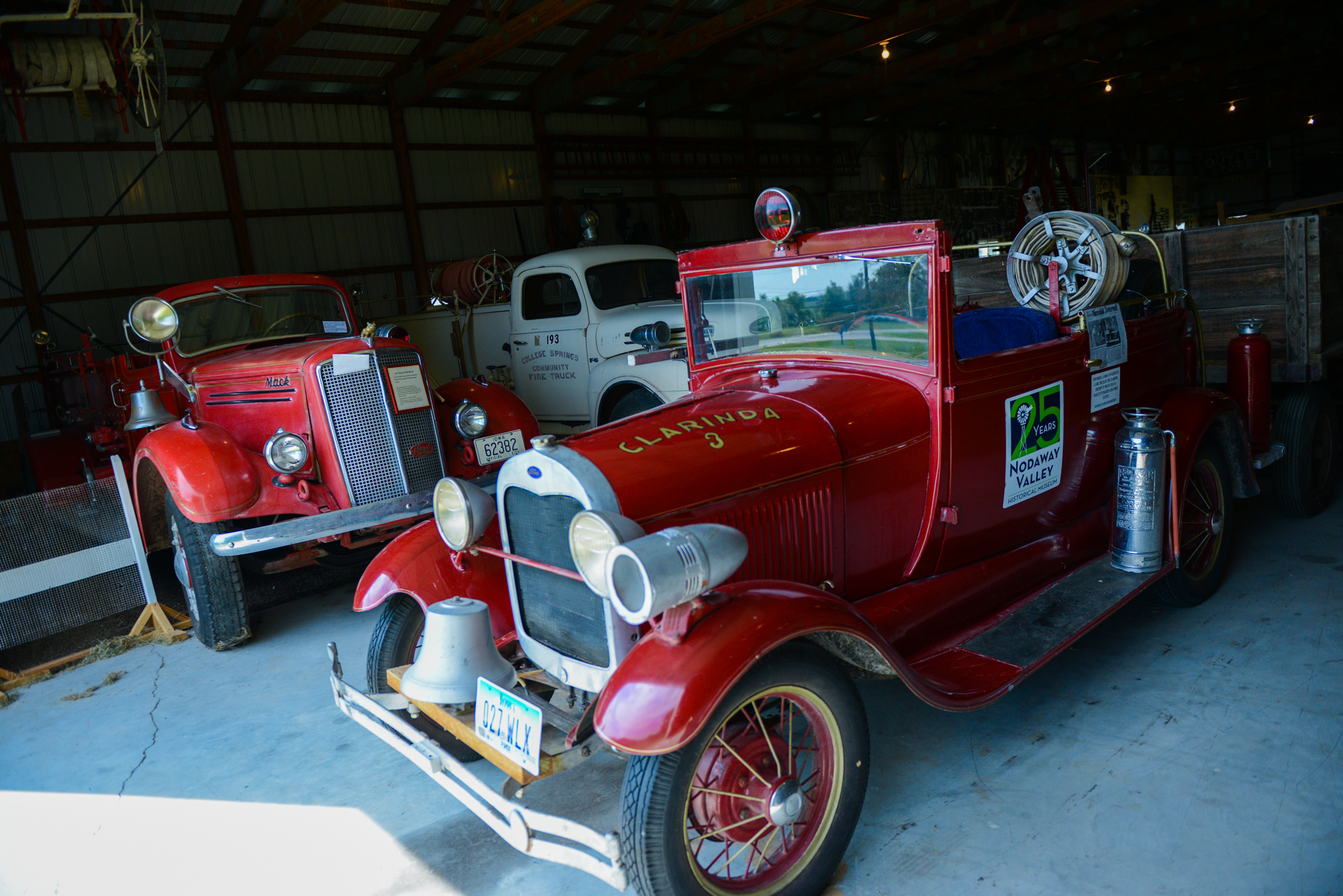 1930 Model A Ford Converted to A Firetruck by the Clarinda Fireman in 1965 to use as a Mascot in Parades and Other events