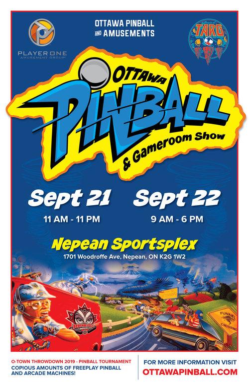 Ottawa Pinball & Gameroom Show — Ottawa Pinball & Amusements