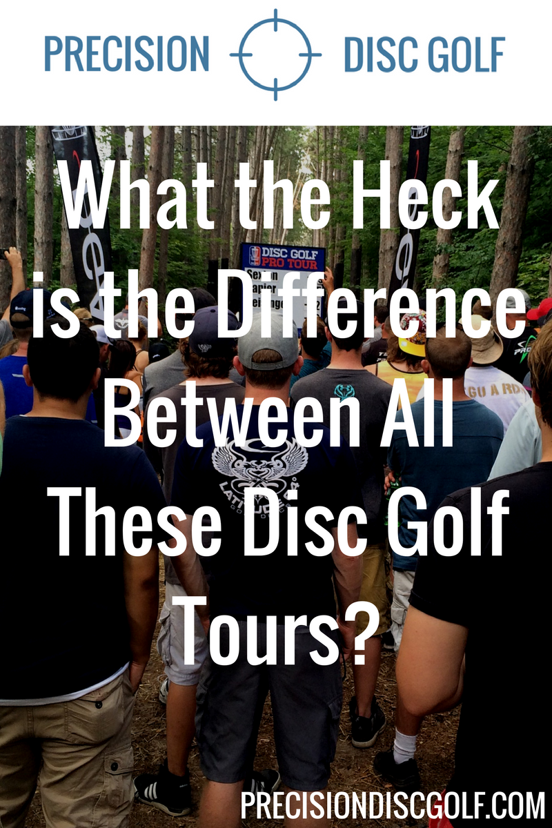 What the heck is the difference between all these disc golf tours