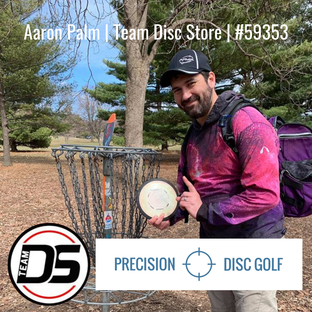 Aaron Palm joins Team Disc Store
