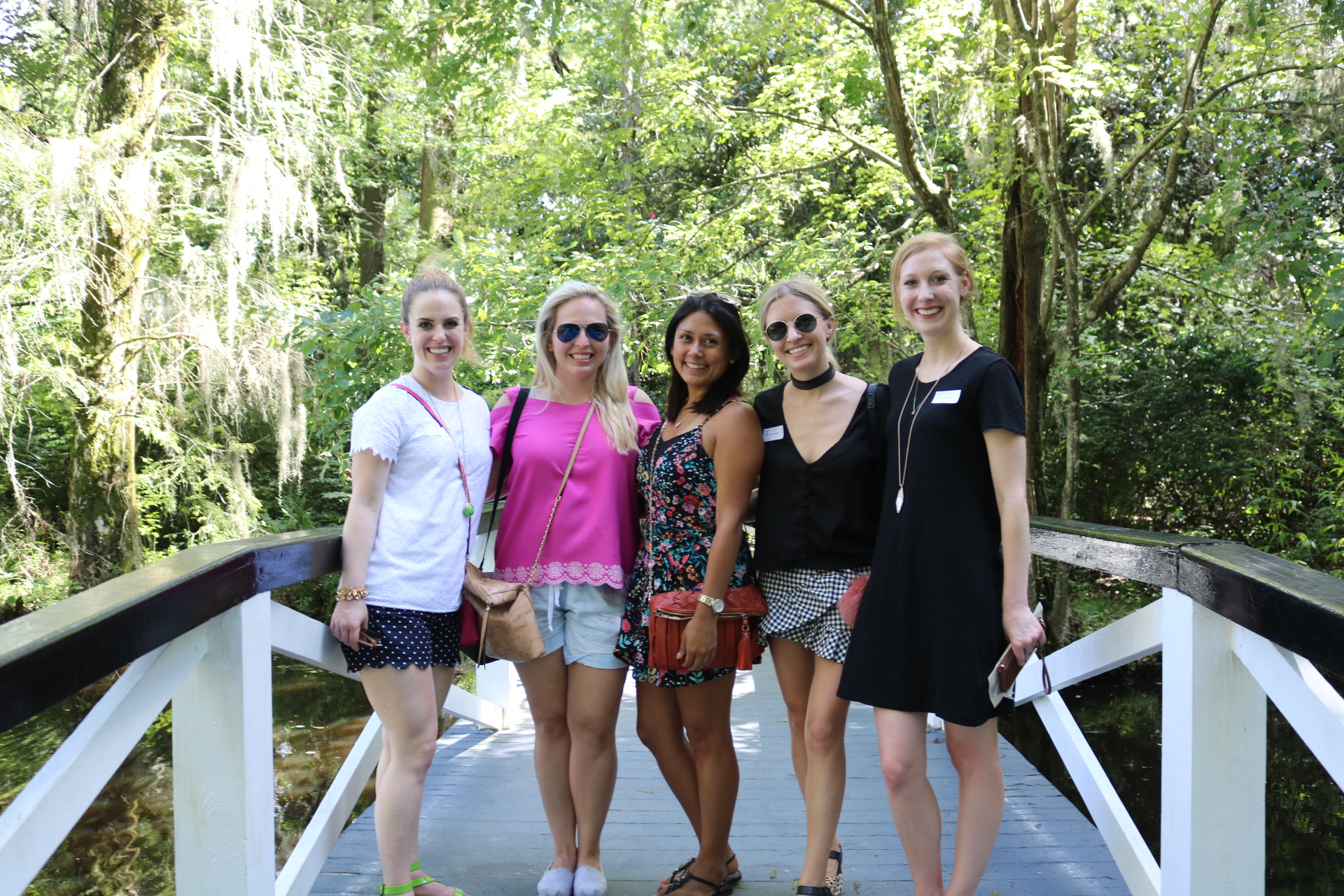 some of the girls at Magnolia Plantation