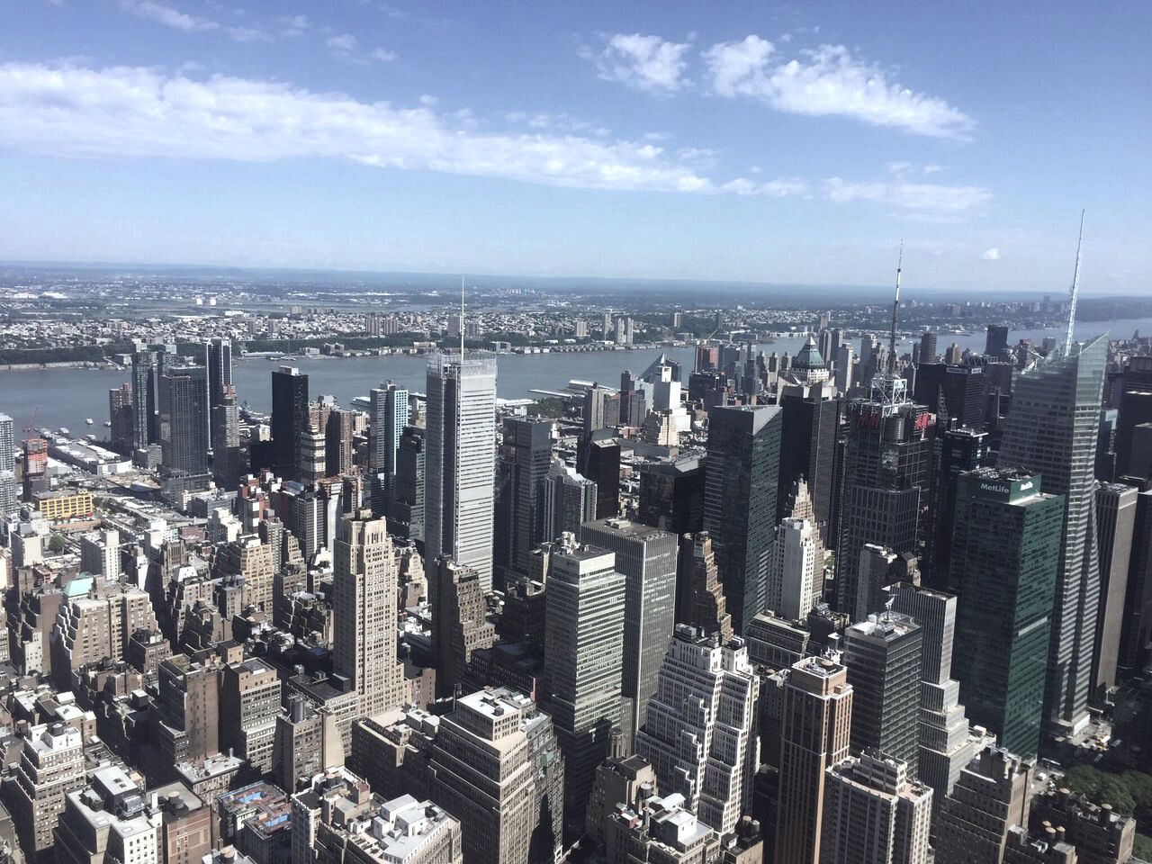 Views from the Empire State Building