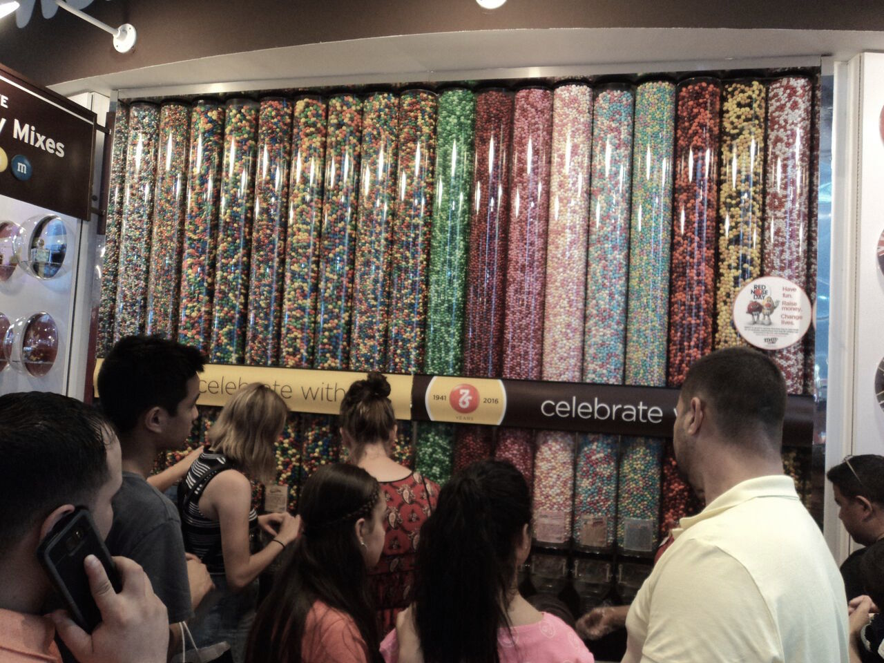 M&Ms World, Times Square