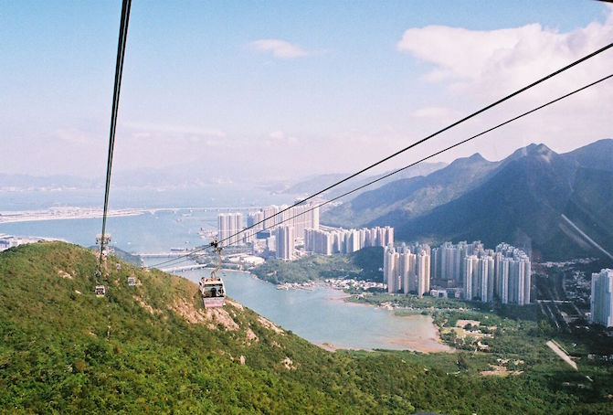 Ngong Ping Cable Car/Lantau Island:  Okay, so this one may be a bit of a tourist trap but how could I not go in this?! Though, I did get a bit motion sick on it…