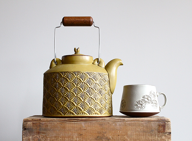 Teapot and mug by Sarah Pike