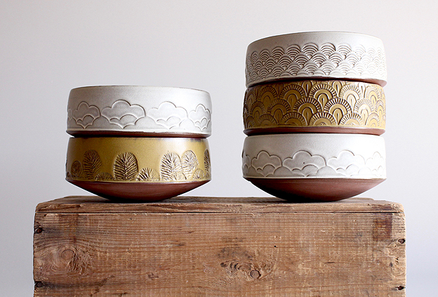 Bowls by Sarah Pike
