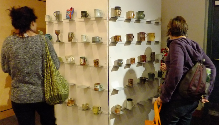 Mug wall, 2013 Symposium