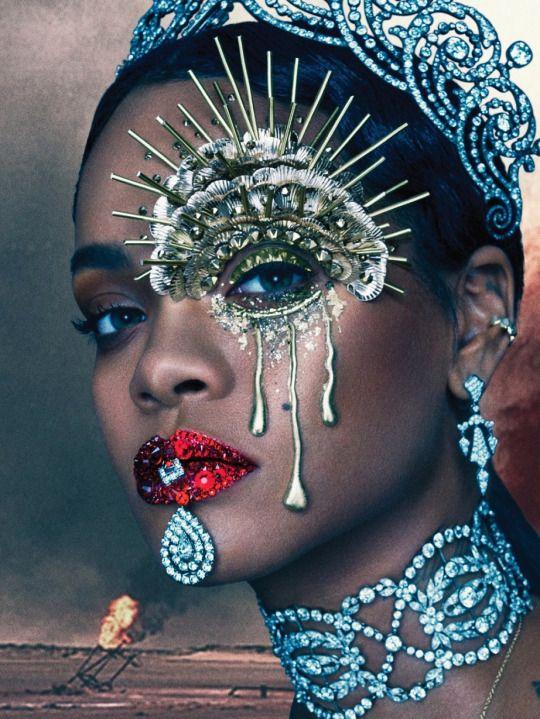 Rihanna - Afrofuturism - Black To The Future