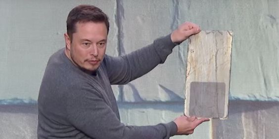 """""""Solar power could be a way to lower carbon dioxide emissions and combat global warming """", said Tesla CEO Elon Musk at a presentation."""