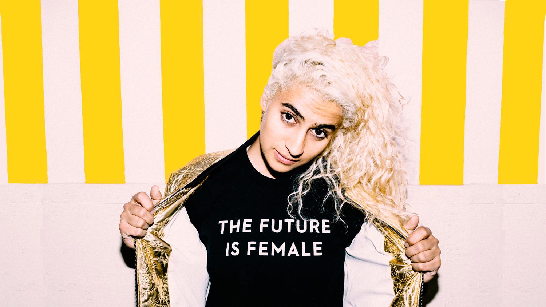 Madame Gandi - The Future Is   Female. (credit: Anna Maria Lopez)