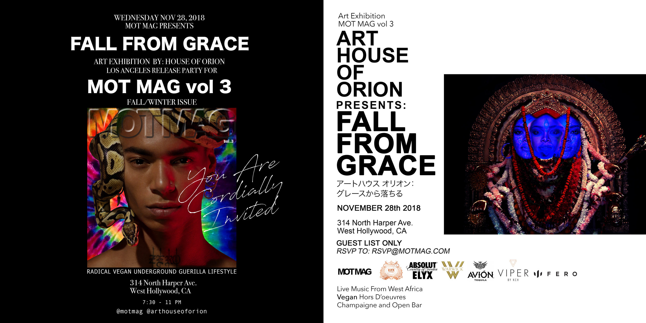 Fall From Grace November 28th
