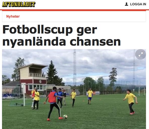 Intervju med Tillsammans Cup Örnsköldsviks arrangör