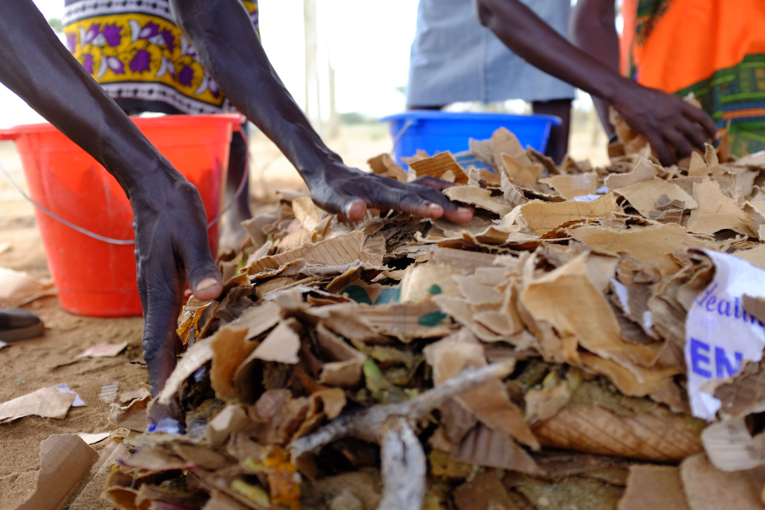 Turkana women | Making Compost
