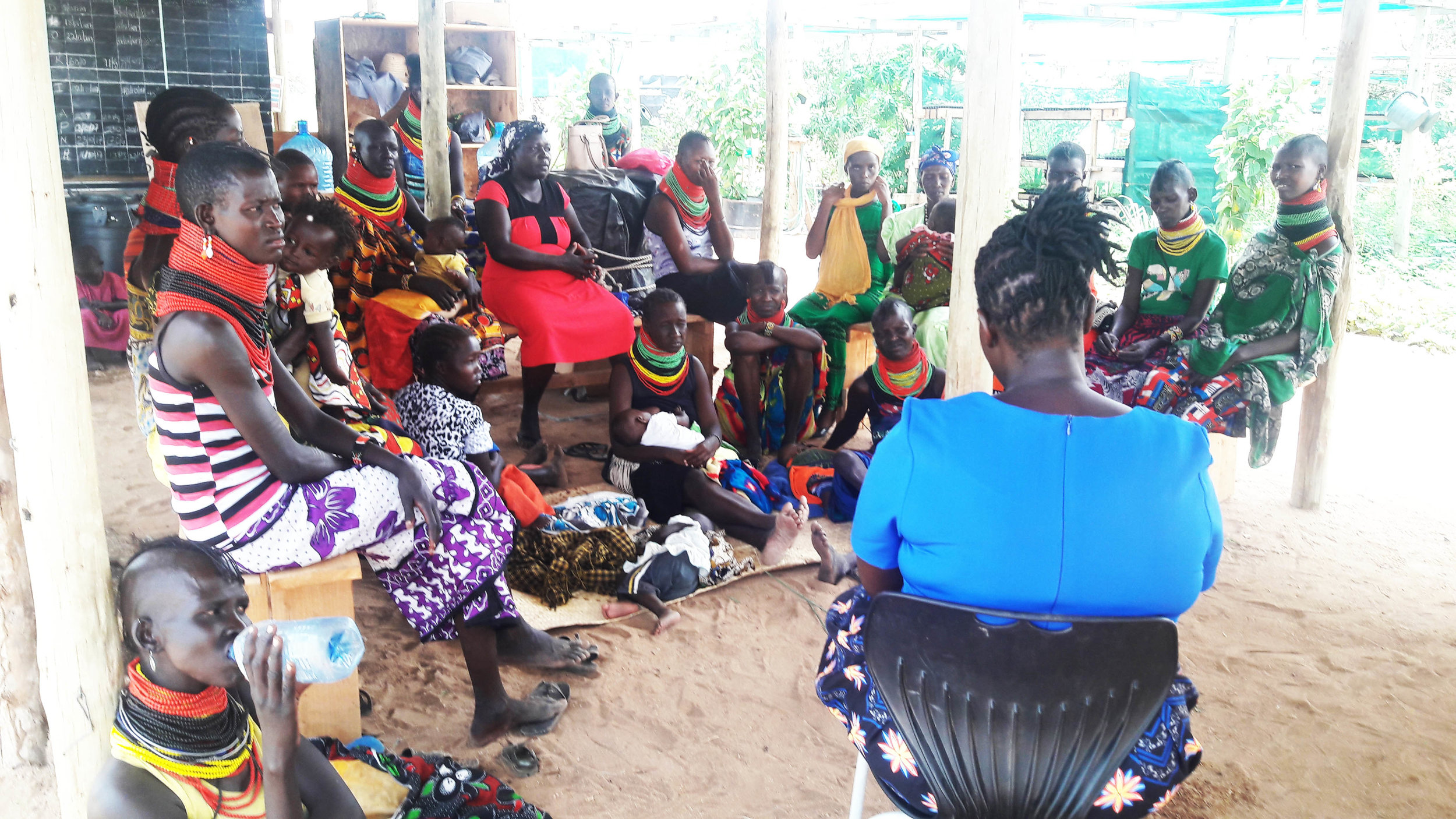 Barefoot Training Department teaches Turkana community ladies