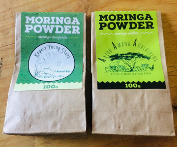 The farm produces its own organic moringa powder – from both species – with the school set to be our first out grower.