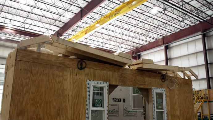 roof - folded