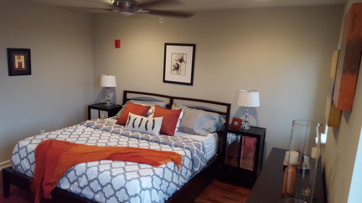 1321-27 N 7th Street - Rear Bedroom