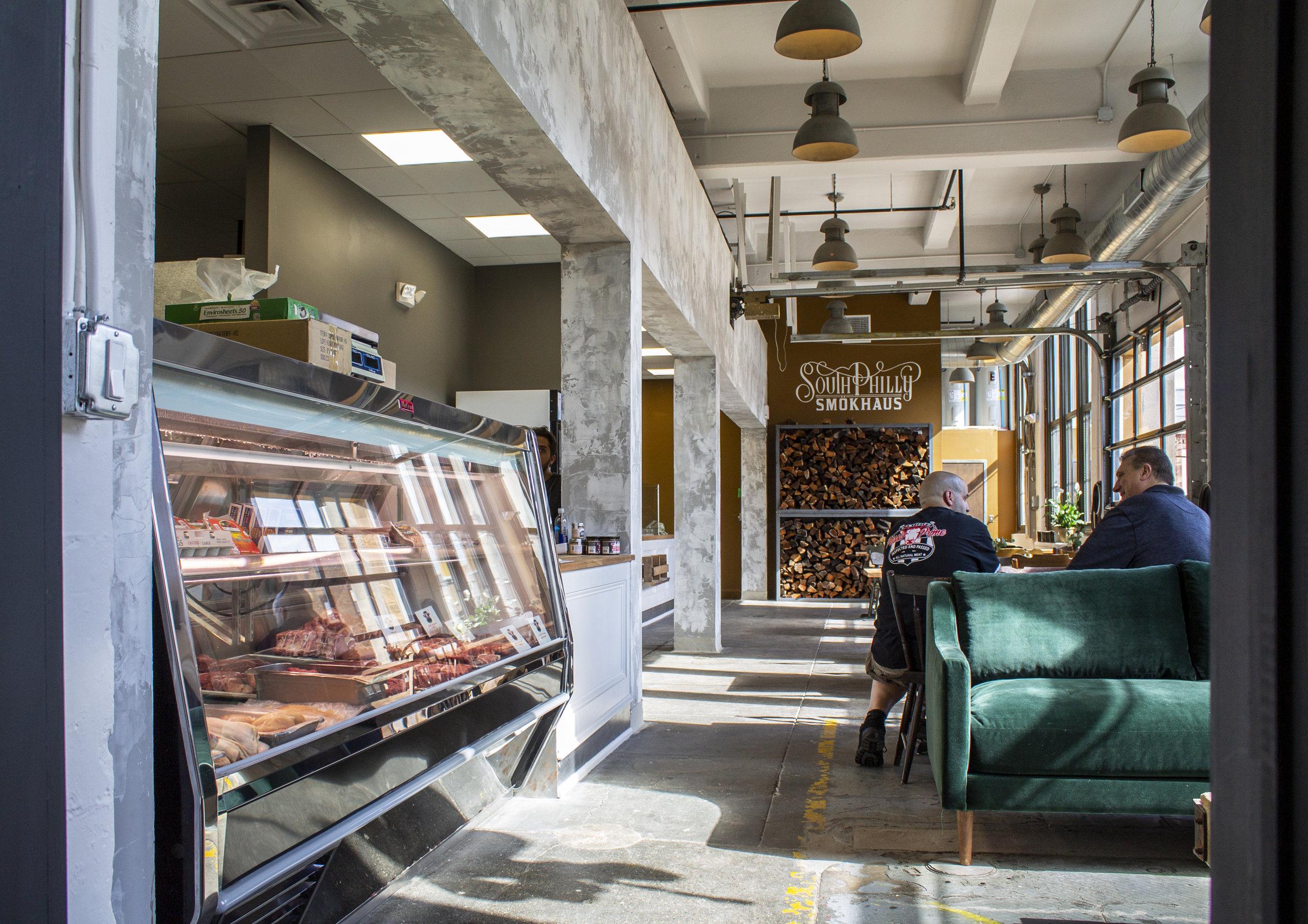 Passio's Prime Meats counter