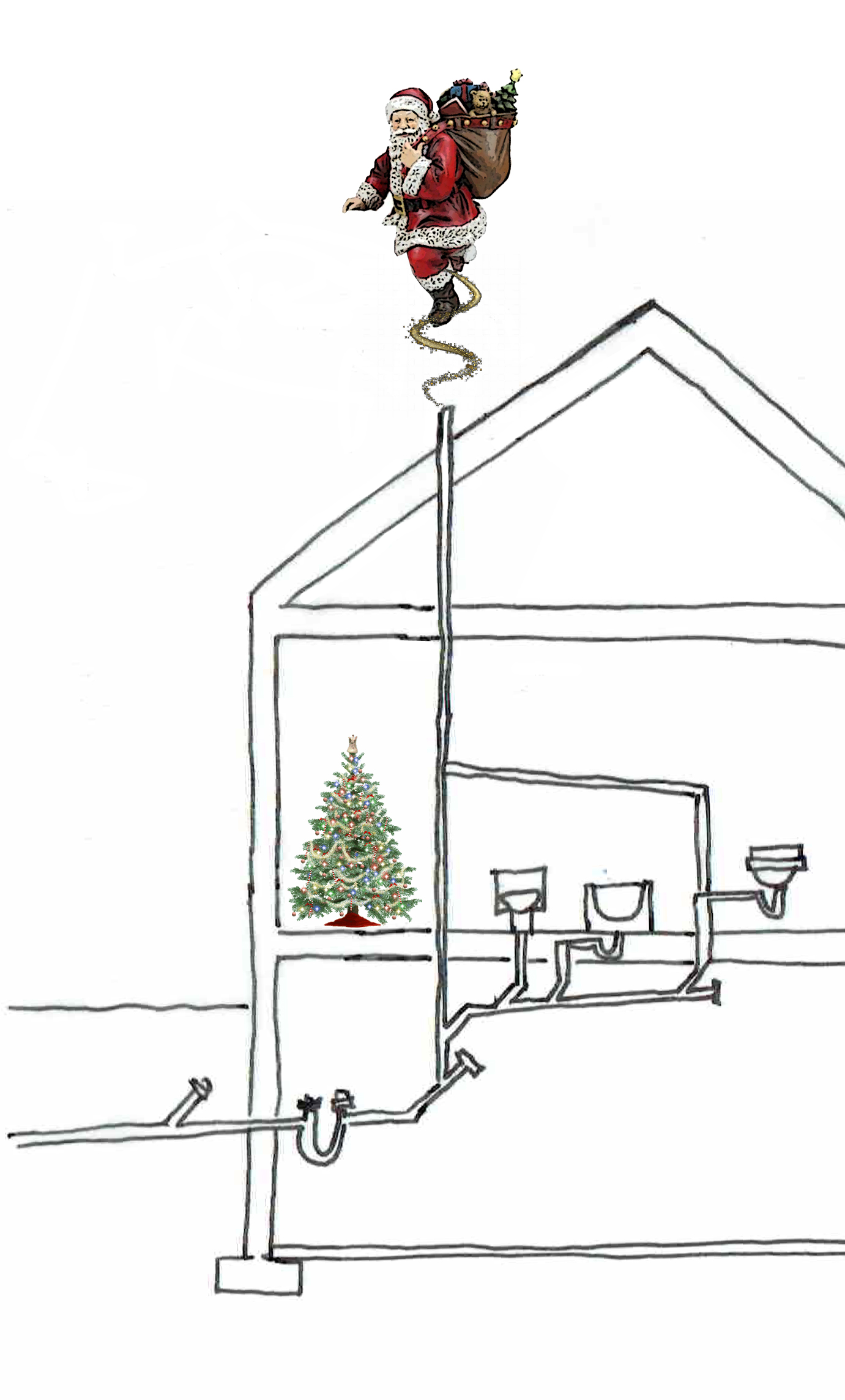 Santa going down the vent stack.jpg
