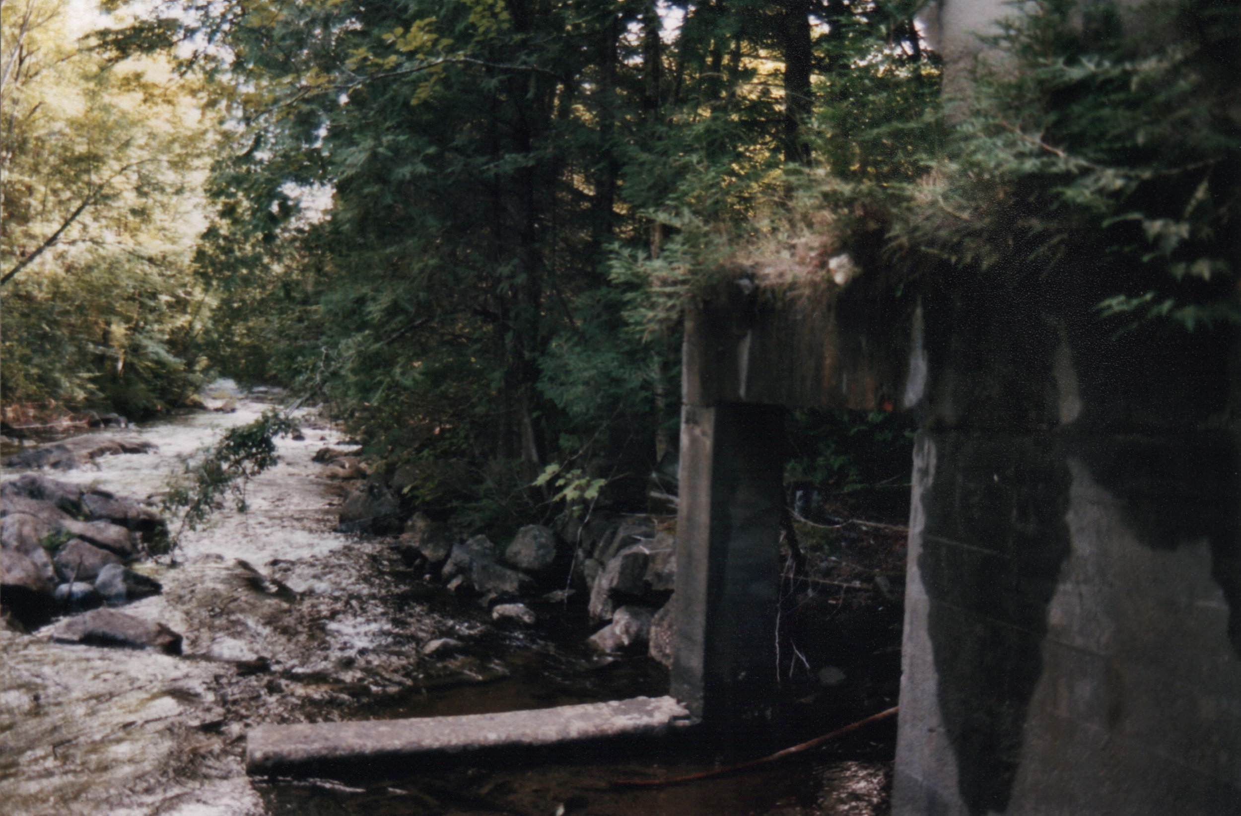 Calamity –   The stream which powered the old waterwheels is called Calamity Brook.
