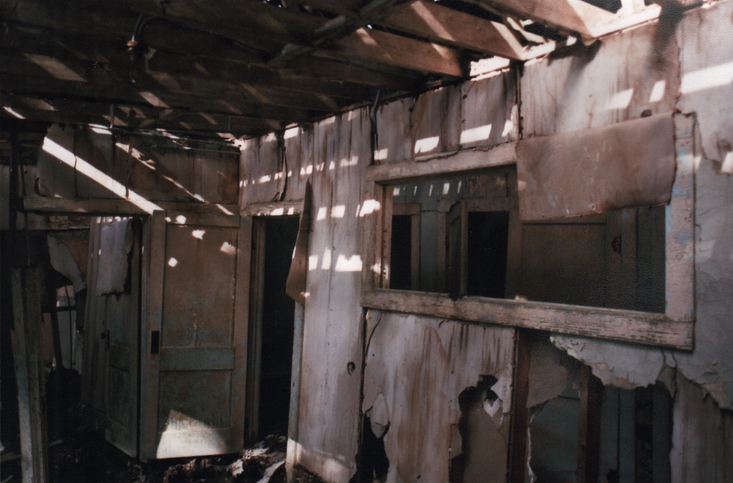 Order Up –   This was the part of the mess hall of the mining camp, order window and all.