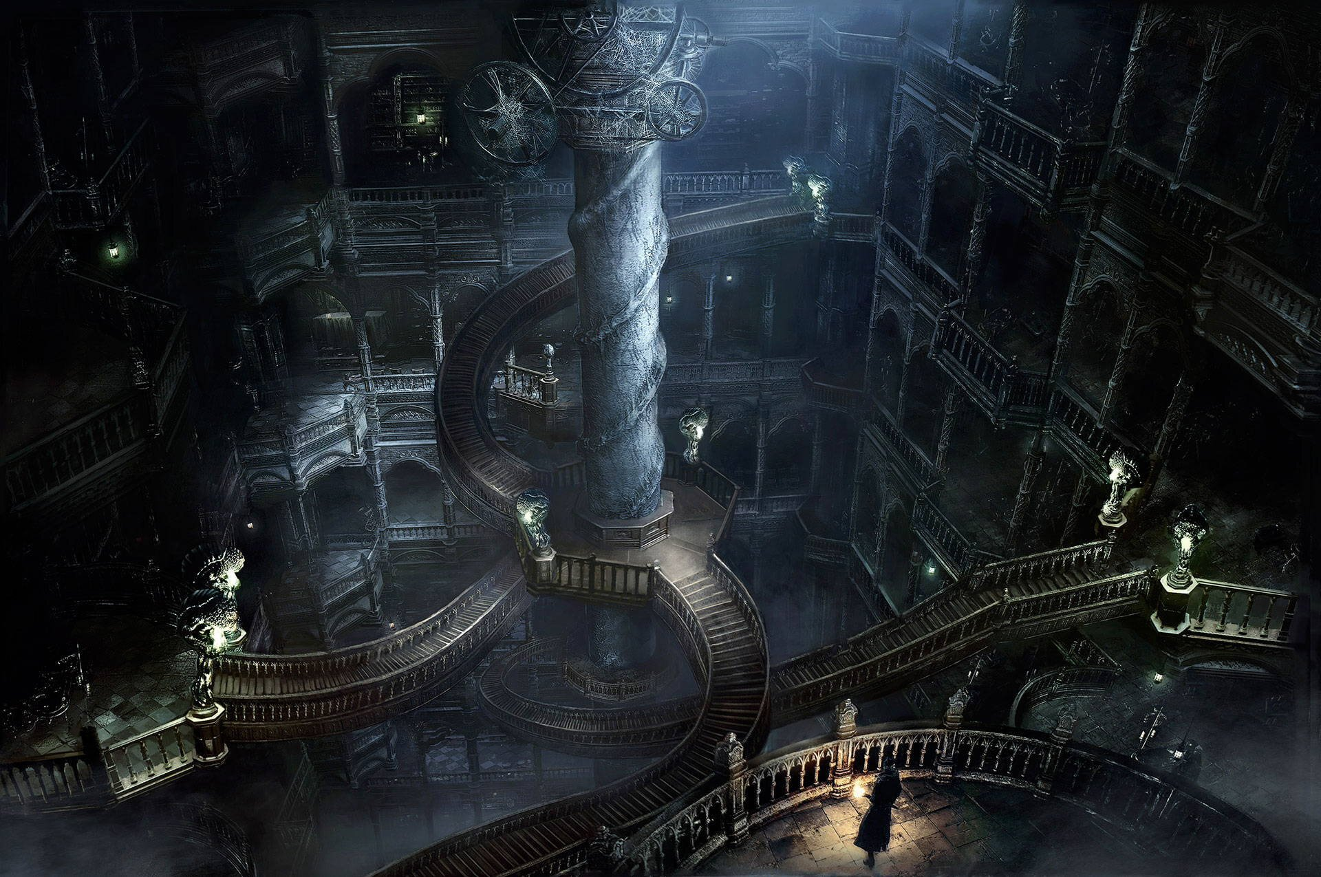 Research Hall –  Bloodborne,  2015, FromSoftware