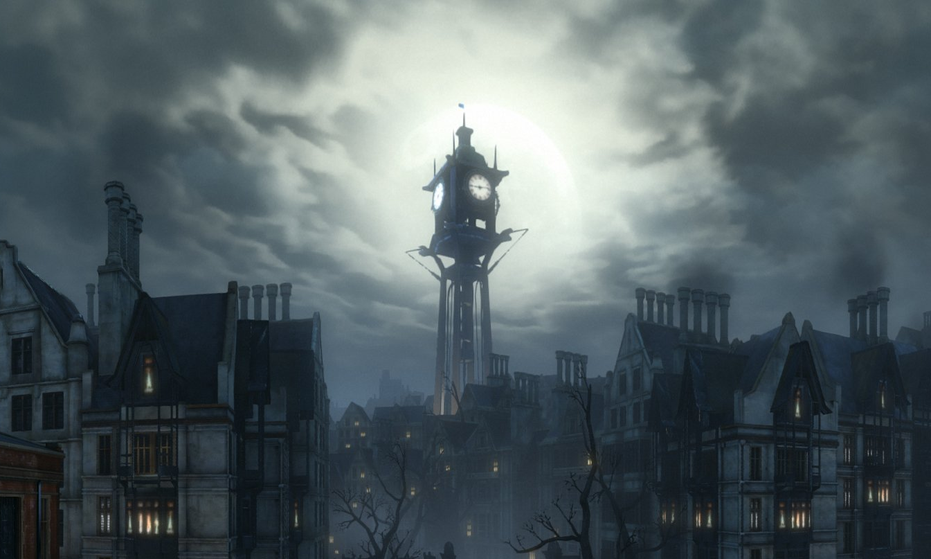 Dunwall Clocktower –  Dishonored,  2012, Arkane Studios
