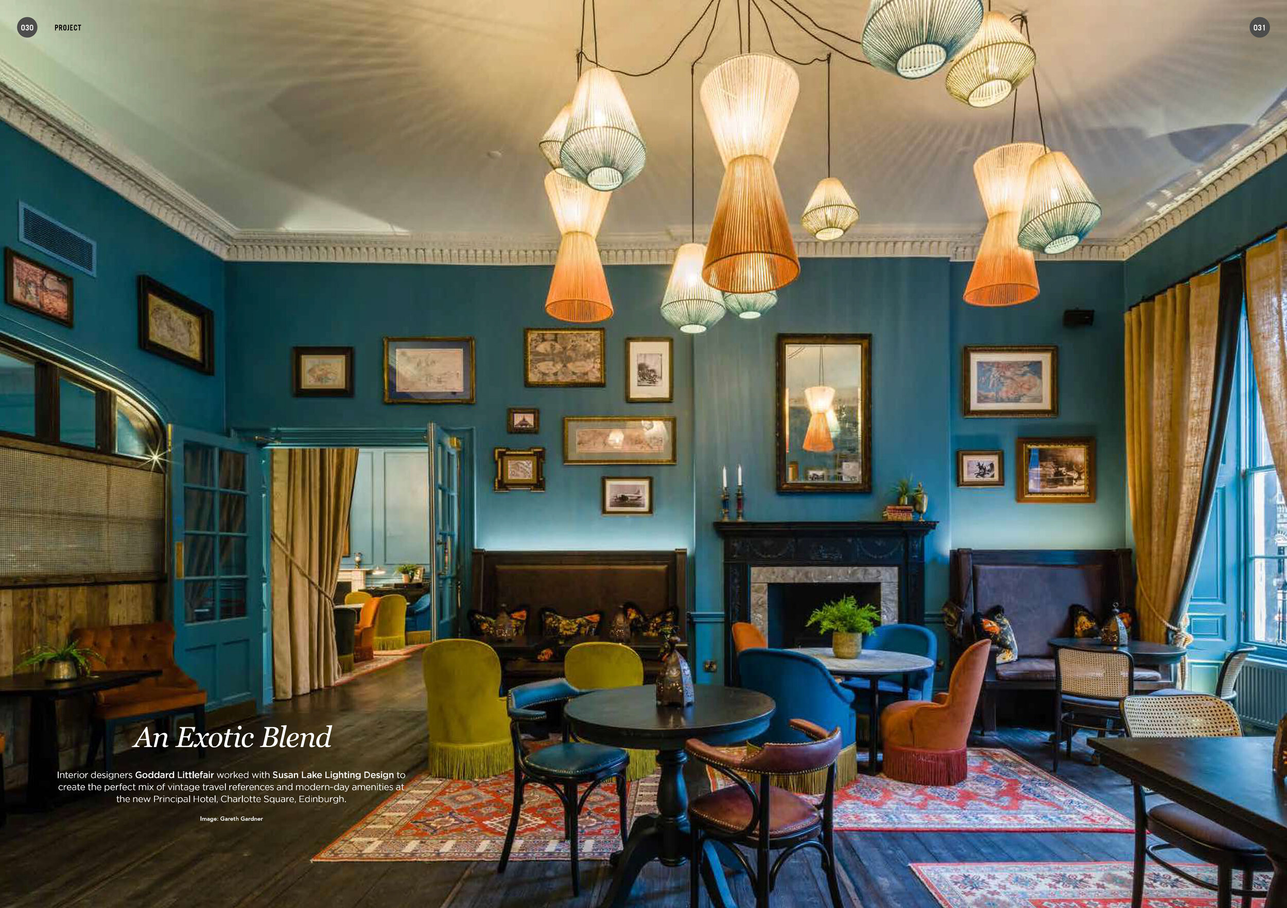 DARC MAGAZINE #25 MARCH/APRIL '18THE PRINCIPAL EDINBURGH, CHARLOTTE SQUARE -