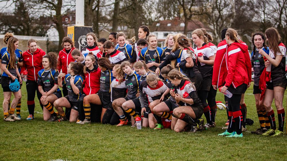 West Park Leeds Girls with Winston Churchill High School of Canada