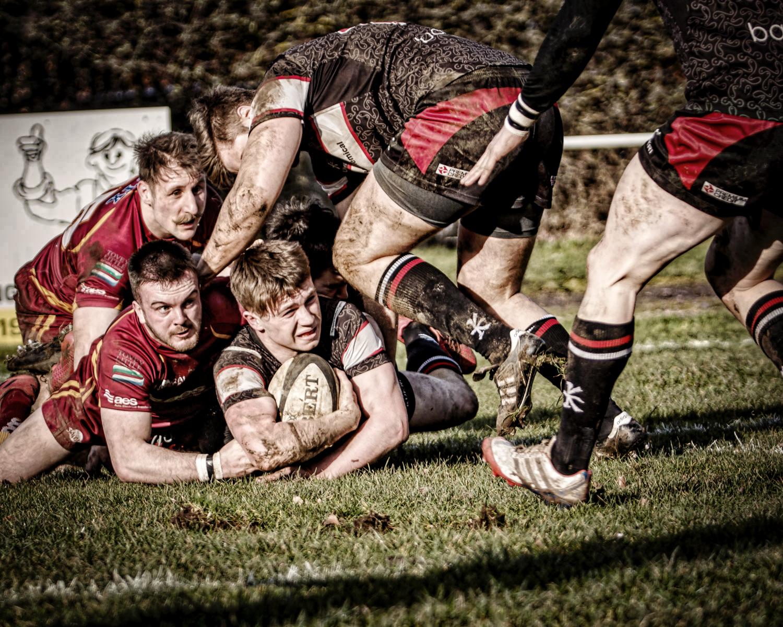 Ben Magee: Try scoring run and stiff Sandal resistance