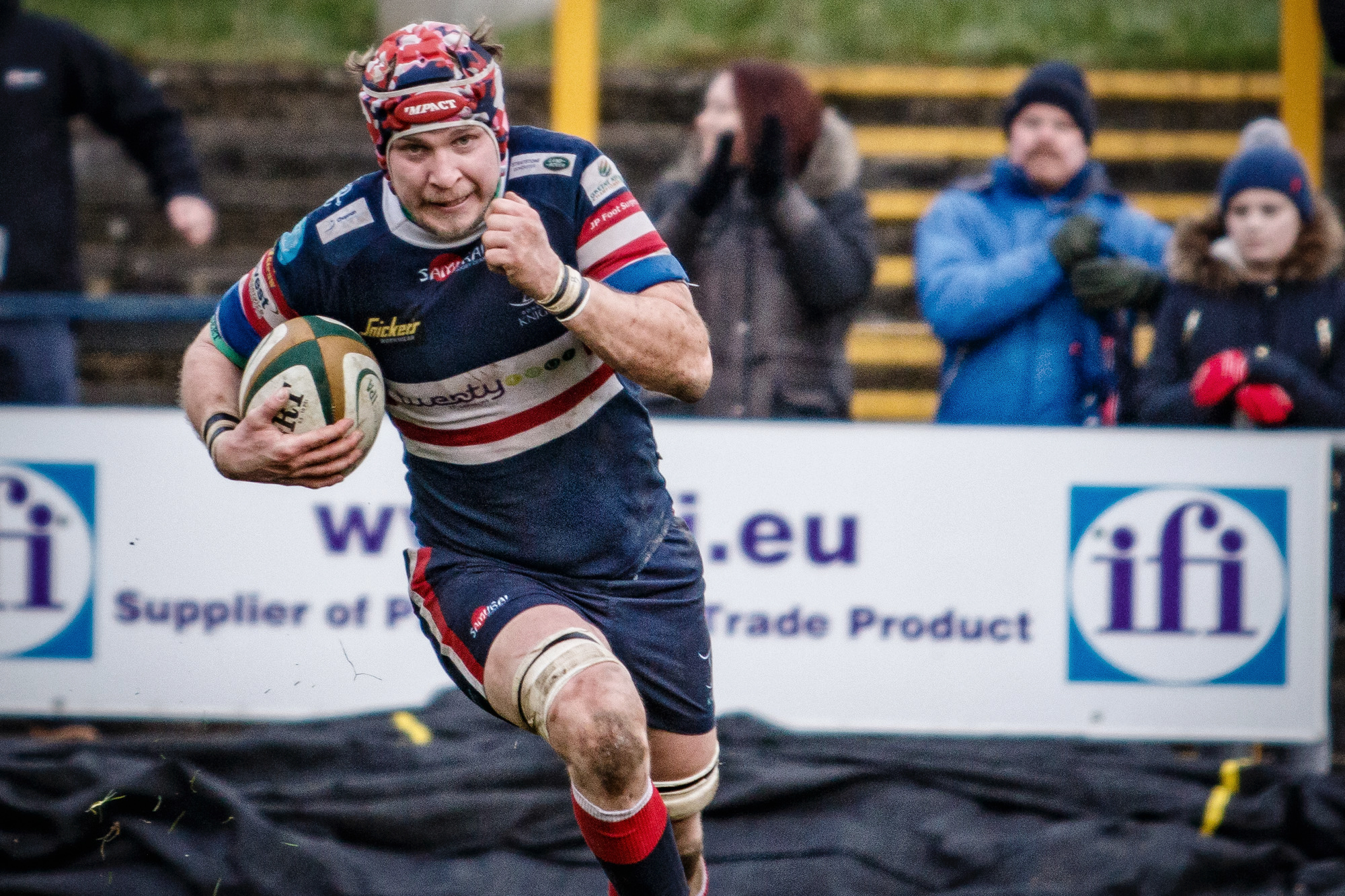 Michael Hills: Winning try in the dying seconds