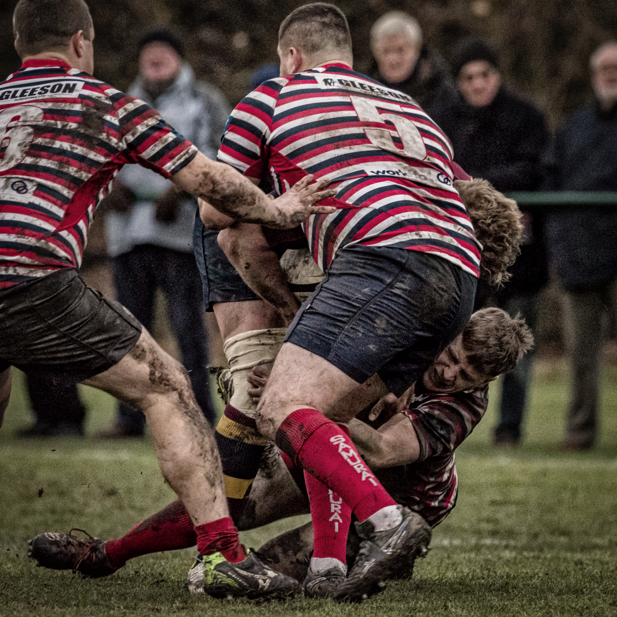 Tackles galore with minds on defence