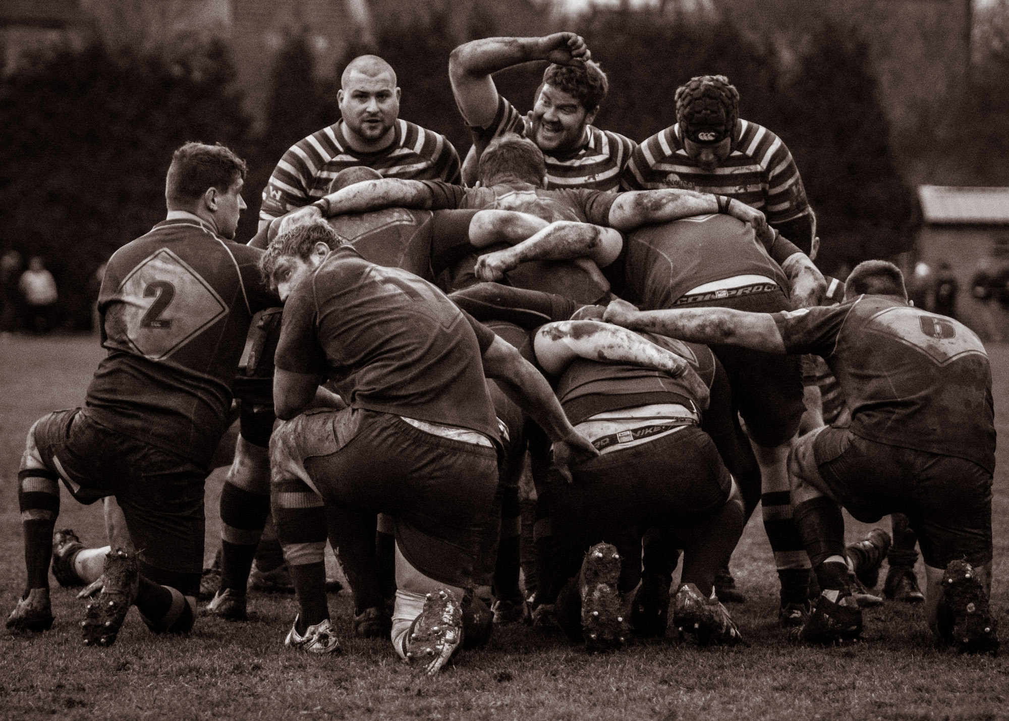 Humour in the scrum