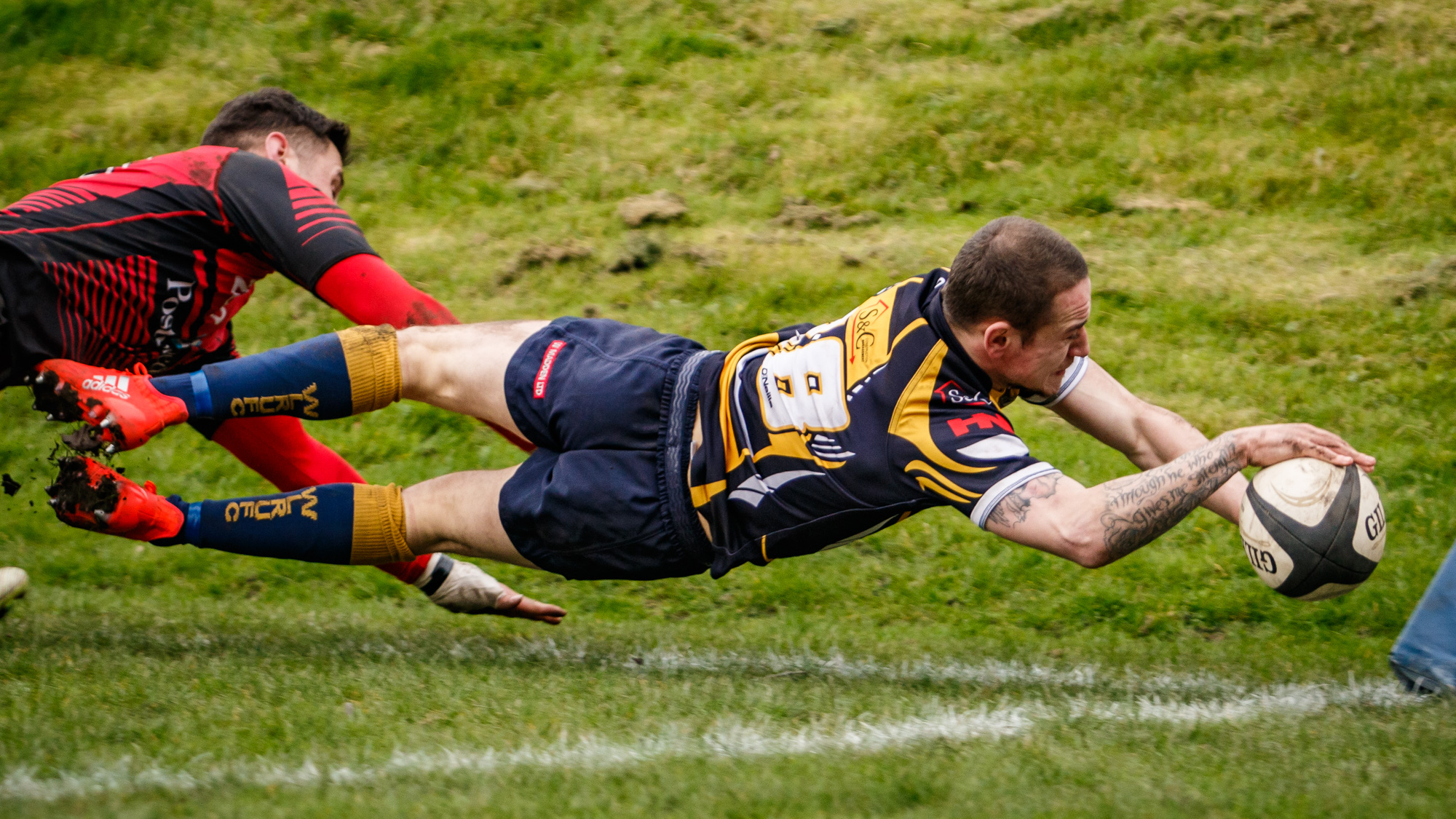 My only diving try - from West Leeds