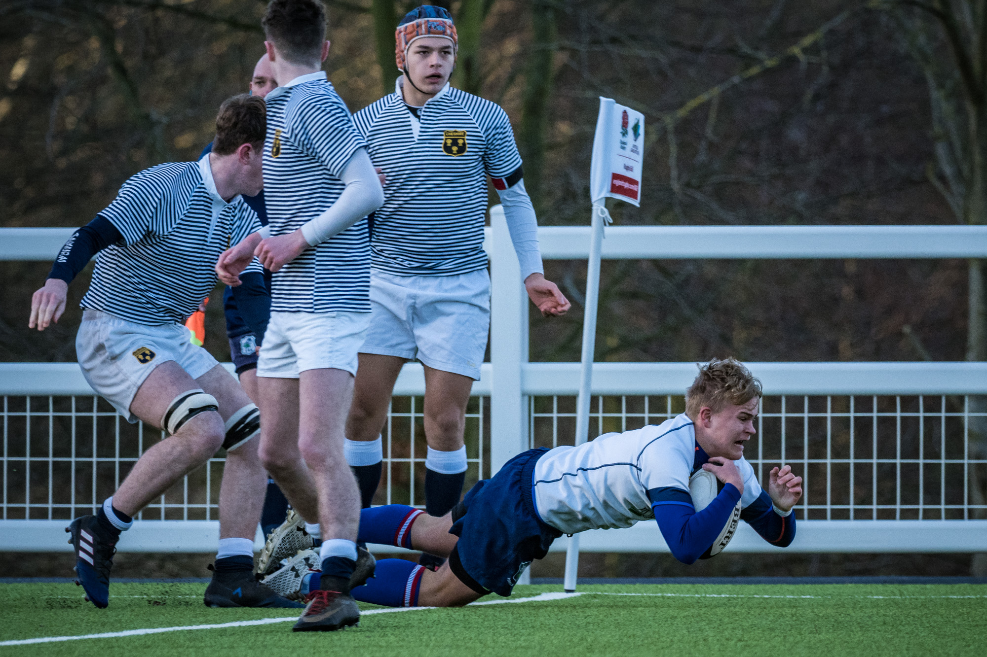 First blood to Yorkshire; An Early Try