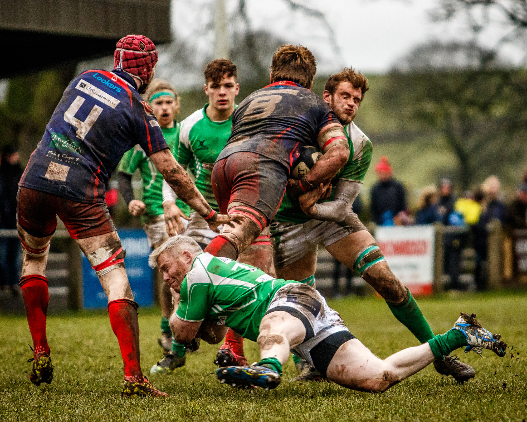 Just One Of Many Tackles For Wharfedale