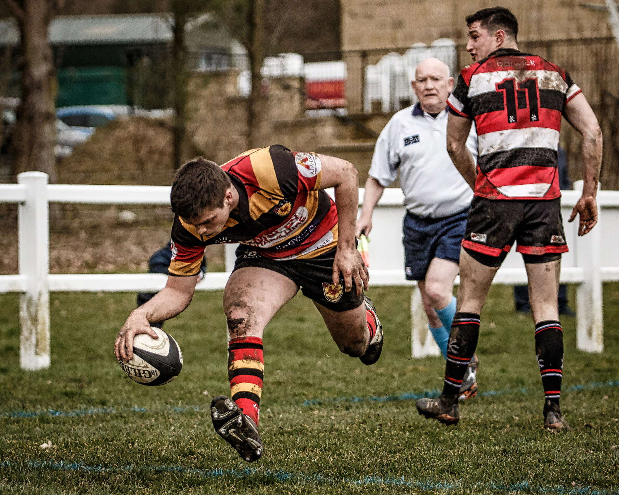 Two second half tries sealed the win for Harrogate