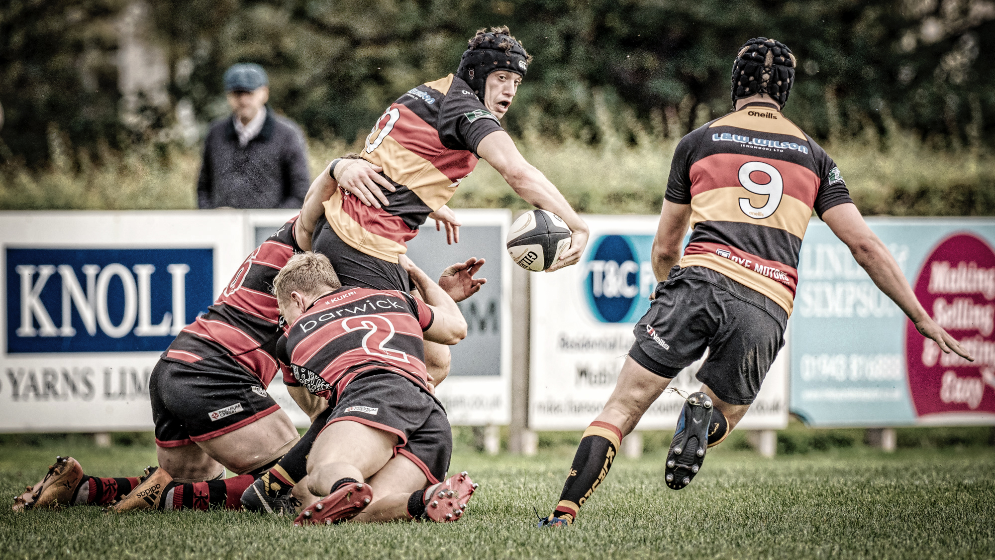 Reverse Pass: Kirkby Lonsdale On The Attack